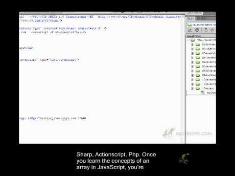 Beginner's Javascript Closed Captioned - Arrays Part 1