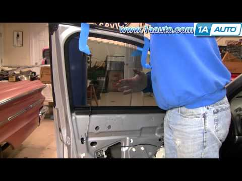 How To Install Replace Power Window Regulator Chevy Malibu 06-07 1AAuto.com