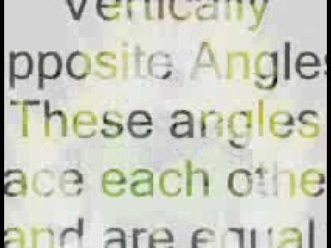 Mathematics- Angle Properties