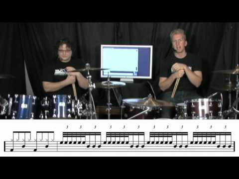 Applying 16th Note Triplets Around The Drum-Set (Live Broadcast #6)