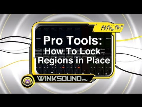 Pro Tools: How To Lock Regions In Place