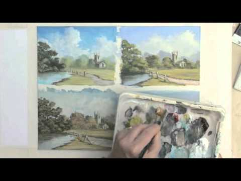 Acrylic Painting Instruction - 4 Seasons In 1