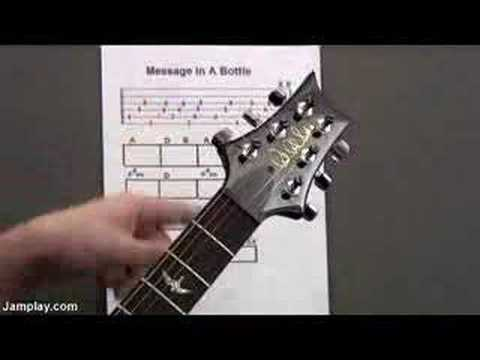 Guitar Lesson: The Police - Message in a Bottle
