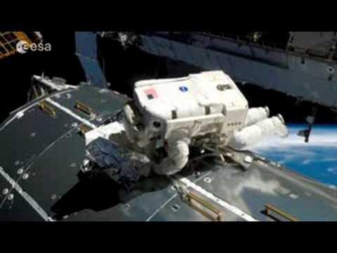 Columbus: ESA's real estate' in space