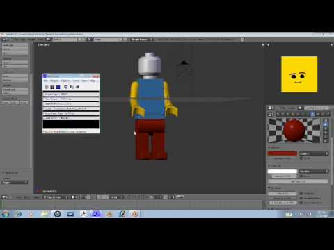 Blender Tutorial - Lego Man Part 4/4