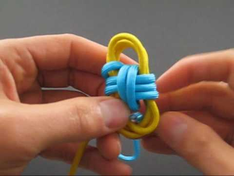 How to Tie a Two Color Monkey's Fist by TIAT