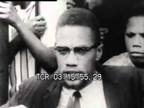 Malcolm X argues for Re-Education instead of Legislation