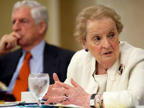 Albright vs Danforth: Does World Opinion of US Matter?