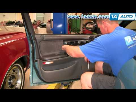 How To Install Replace Power Window Switch Dodge Intrepid 93-97 1AAuto.com