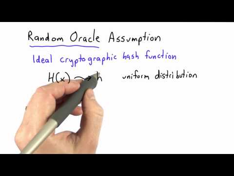 Random Oracle - CS387 Unit 2 - Udacity