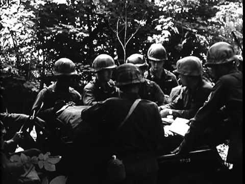 Tank Company Team In Night Attack (1962)