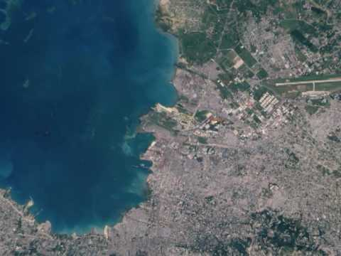 Port-Au-Prince via Satellite