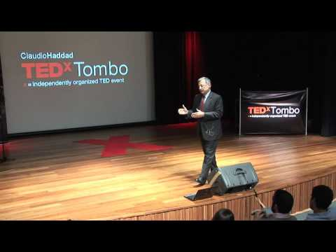 TEDxTombo 2010 - Claudio Haddad