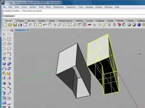 Rhino 5 Tutorial | Working with Lines and Polylines | InfiniteSkills Training