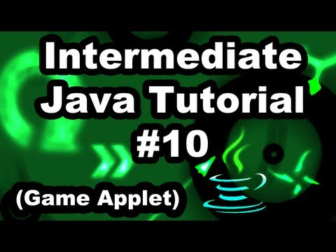 Learn Java 2.10- Game Applet- Adding a platform object