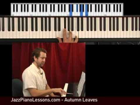 Learn Jazz Piano - Autumn Leaves part 2