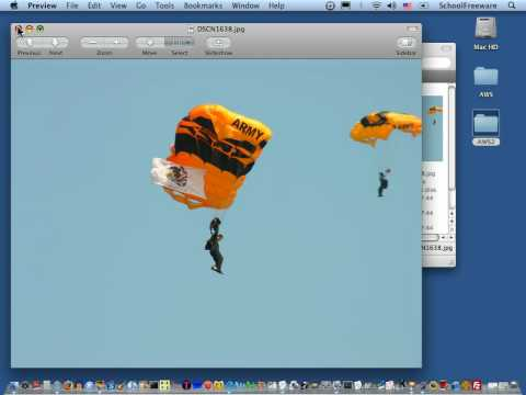 Resizing Pictures on Mac - Tutorial