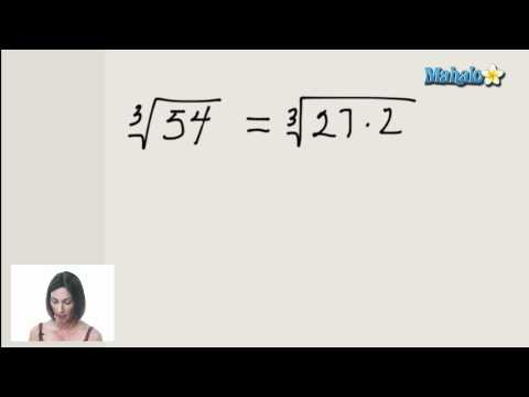 Simplifying Radical Expressions (ex.2)