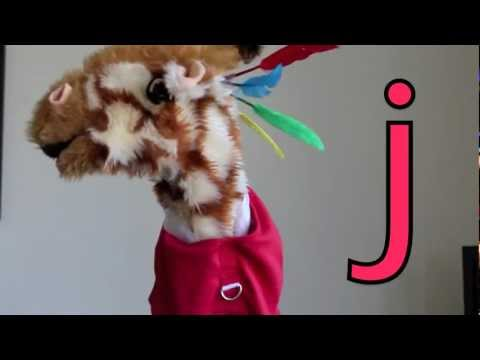 Geraldine the Giraffe learns the /j/ sound