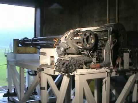 GAU-12 Gatling Gun Test