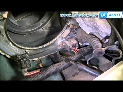 Auto Repair: Replace Blower Motor Speed Control Ford Explorer 95-01 - 1AAuto.com