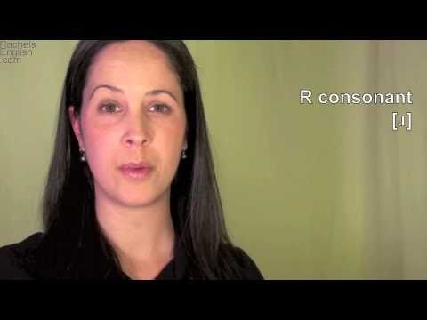 English: How to Pronounce R [ɹ] Consonant: American Accent