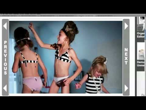 Child Lingerie Stirs Controversy