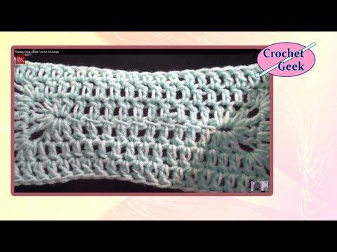 Crochet Geek - Solid Crochet Rectangle