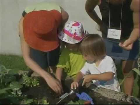 NYBG Family Garden on NBC Nightly News