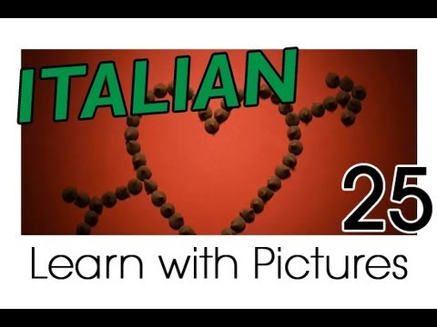 Learn Italian - Italian Dating Vocabulary