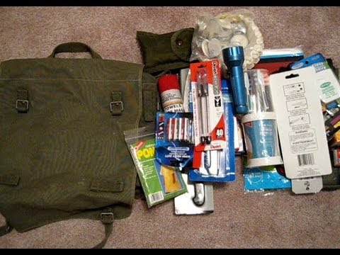 Vehicle Bug Out Bag - SHTF Survival Gear - Share your ideas