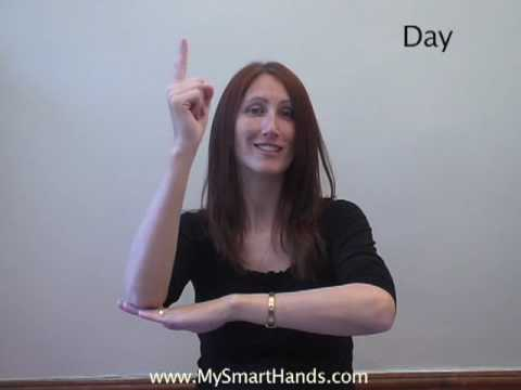 day - ASL sign for day