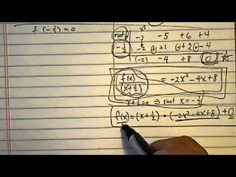 Factor Higher Order Polynomial: Part 3 - Putting it All Together