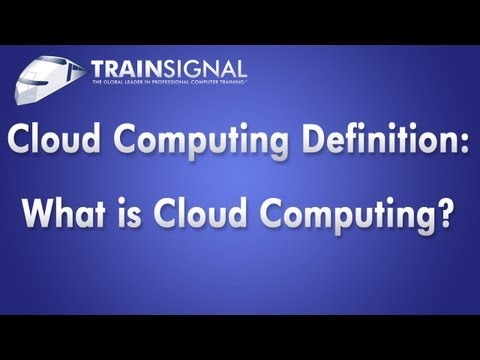 Cloud Computing Defintion | CompTIA Cloud Essentials