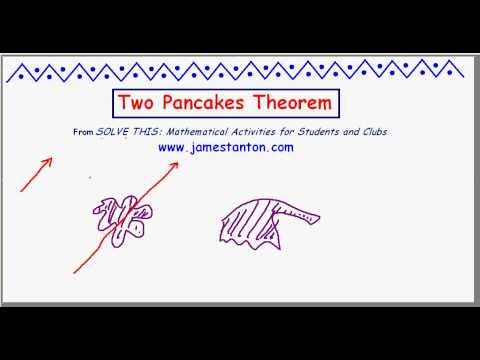 Two Pancakes Theorem (TANTON Mathematics)