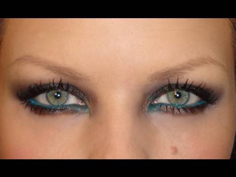 SMOKEY SPARKLING EYE MAKE-UP TUTORIAL