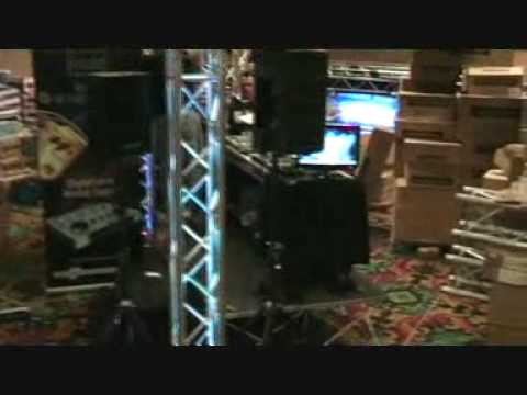 MBLV09 Video 10, Small clip of Set up @ the Show