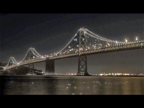 The Bay Bridge LED Project: Art Mimics Travel Patterns