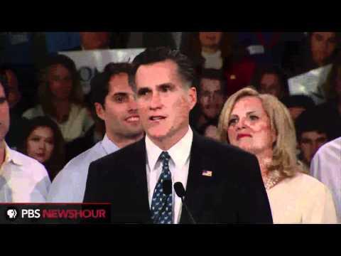 Watch Mitt Romney's New Hampshire Primary Victory Speech