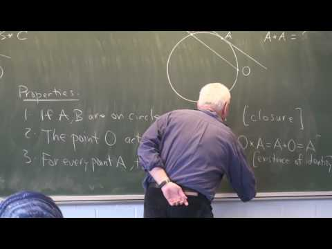 AlgTop2c: Homeomorphism and the group structure on a circle (cont.)