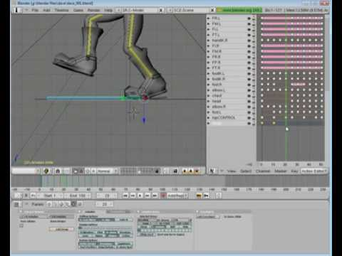 Blender Tutorial Series - Part 26 - Walking on a Path