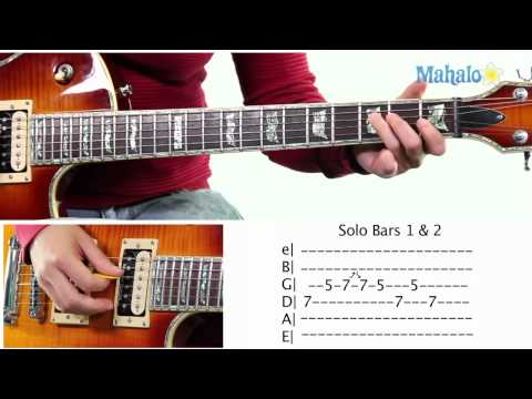 Mahalo Guitar Solo Course: Bars 1 and 2