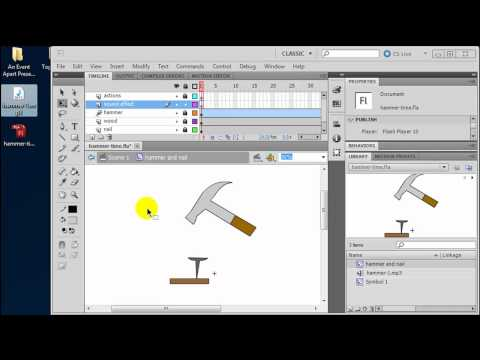 Using Sound Effects with Animation in Flash