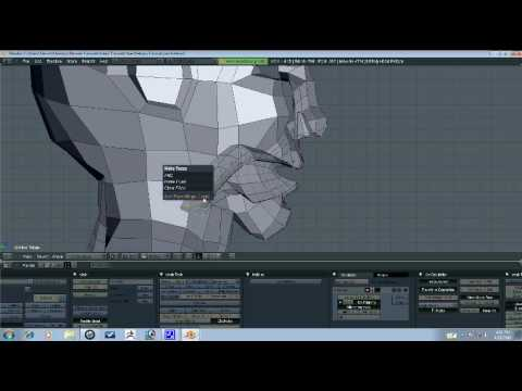 Blender Tutorial - Head Retopo Part 7/10
