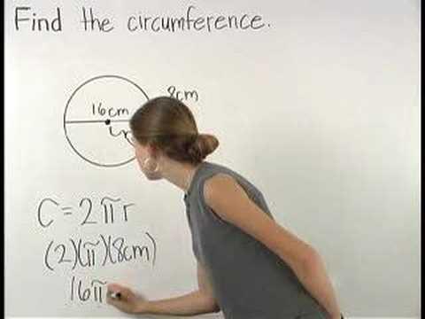 Circumference of a Circle - YourTeacher.com - Math Help