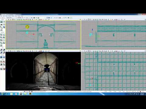Unreal Development Kit UDK Tutorial - 32 - Finishing and Lighting the Castle