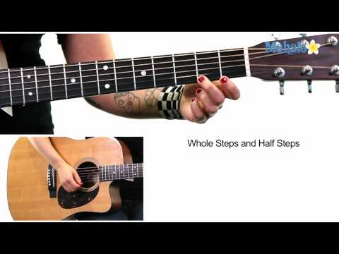 Learn Guitar: Whole Steps and Half Steps