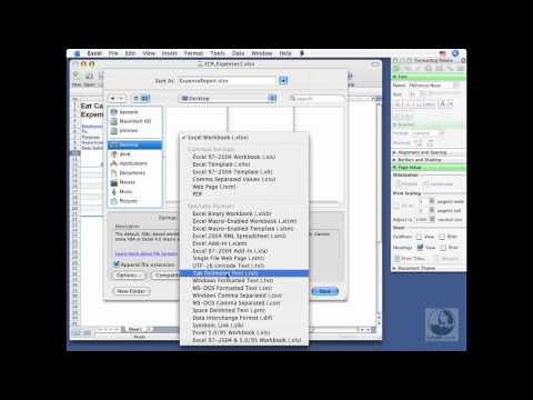 Excel for Mac: Saving workbooks | lynda.com