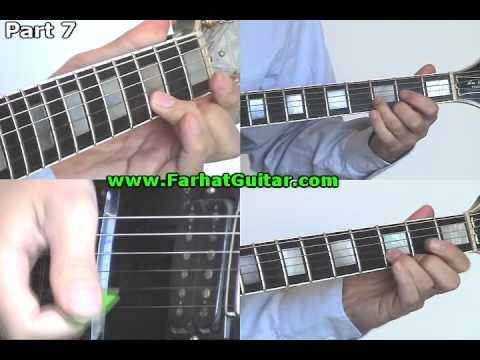 Sweet Child of Mine Part 7 Guns and Roses FarhatGuitar.com