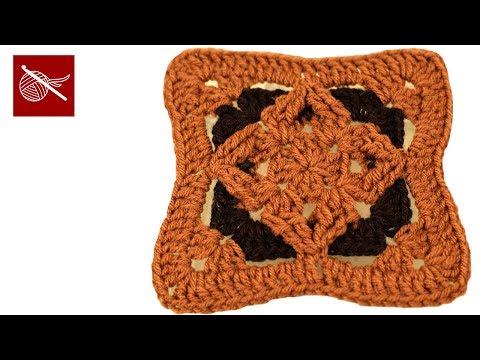 Crochet Geek - Crochet Diamond Granny Square
